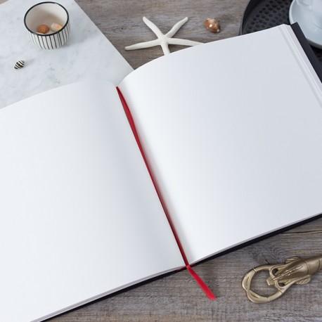 LDO002 - Livre d'or réalisé sur-mesure : Pages intérieures blanche