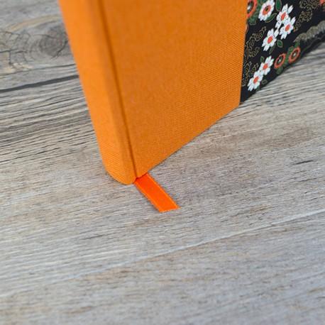 Carnet de notes - A5 - Lignes - Couverture Demi Toile/Papier Création
