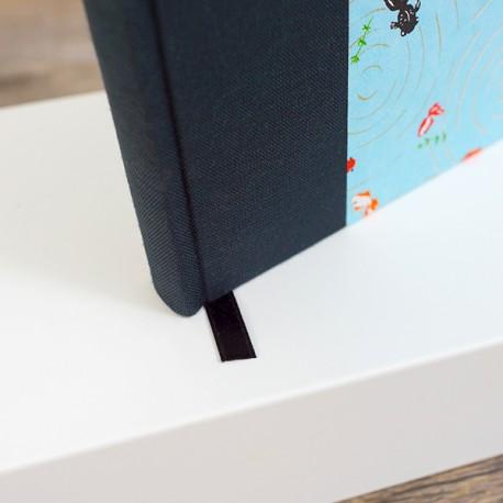 Carnet de notes - A6 - Vierge - Couverture Demi Toile/Papier Création