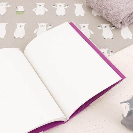 Carnet de notes - Olympe - Pages intérieures à points.